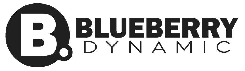 Logo van blueberry Dynamic