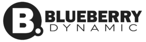Logo van blueberry Dynamic